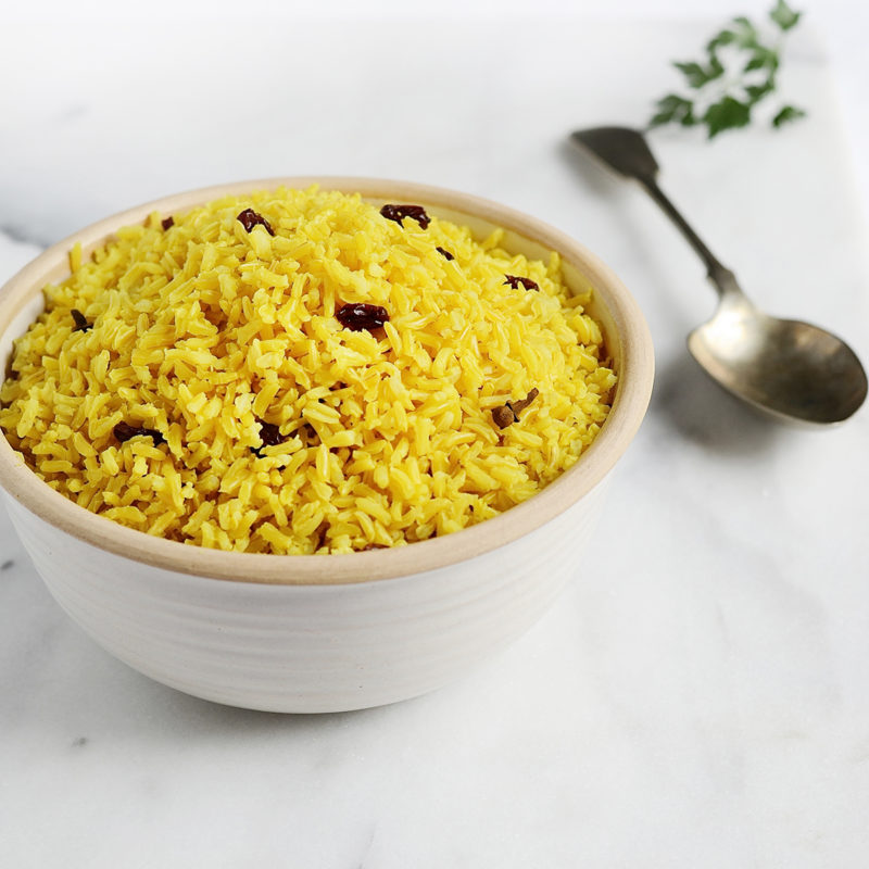 Spiced Yellow Rice